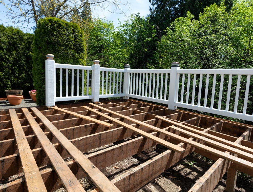 installing a new deck